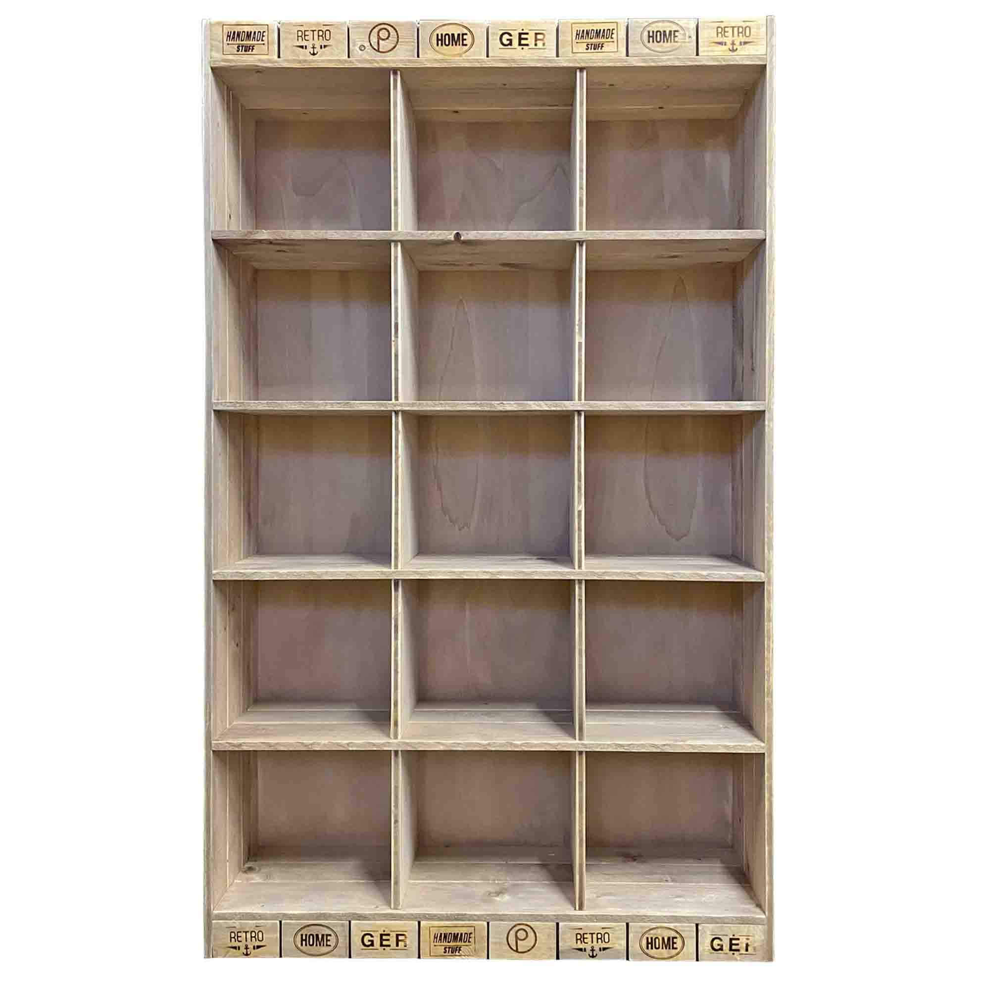 Wandregal-Palettenmöbel-Regal-Schrank aus Paletten