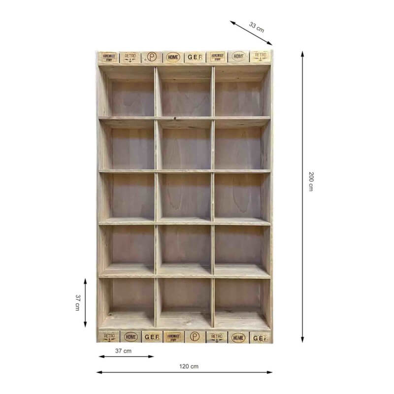 Wandregal aus Paletten-Schrank-Palettenmöbel