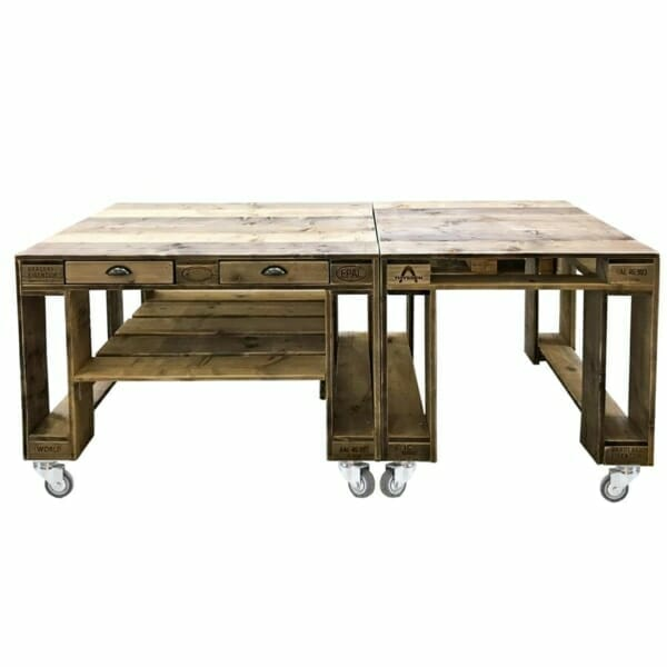Palettenbar-Grill Tisch-Palettentisch-Gartentisch