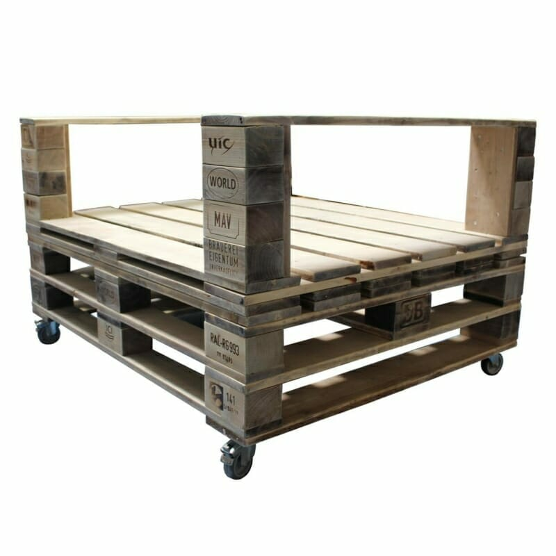 Palettenmöbel 4in1-Möbel Paletten System
