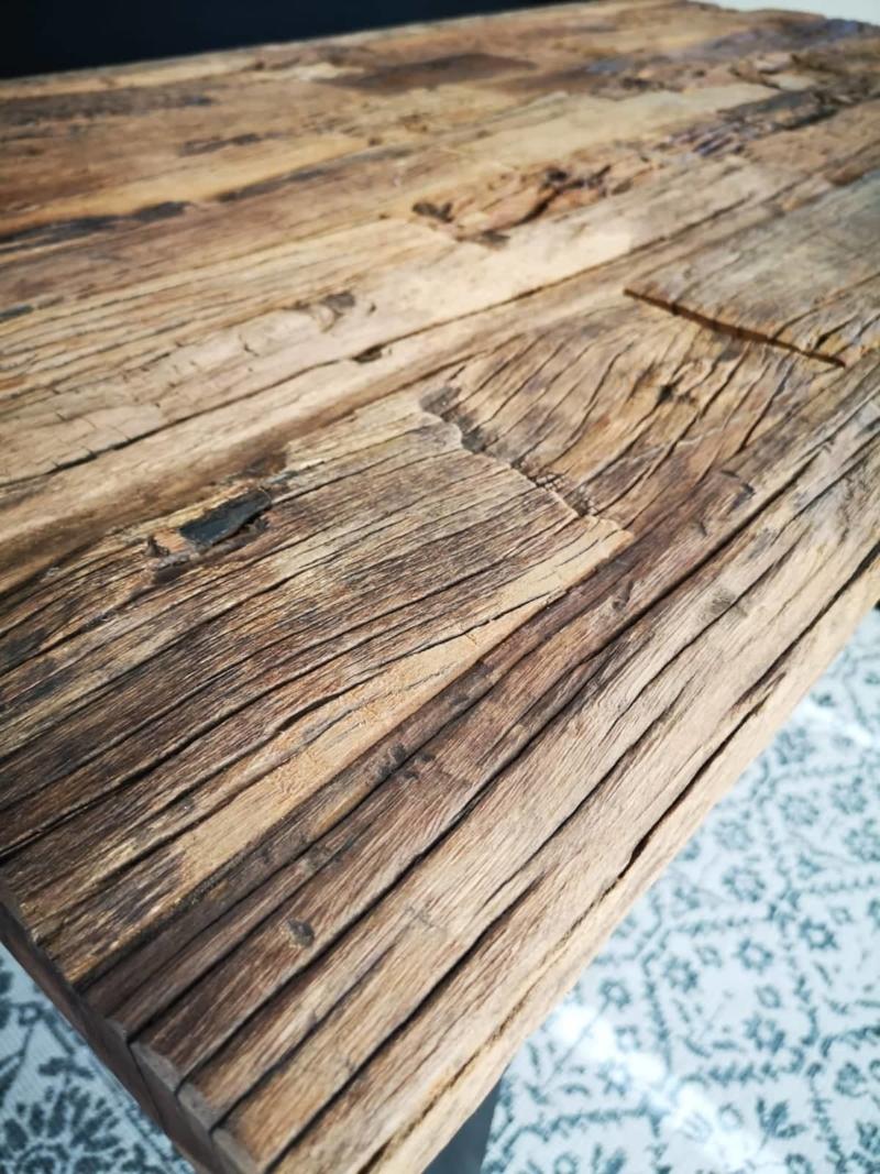 tisch esstisch aus altholz sal baum