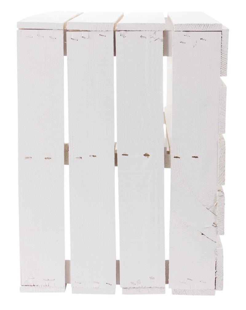 Holzkiste-weiß