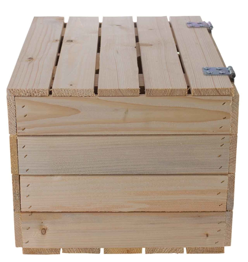 Holztruhe-natur
