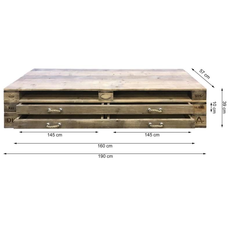 Palettenmoebel-Lowboard