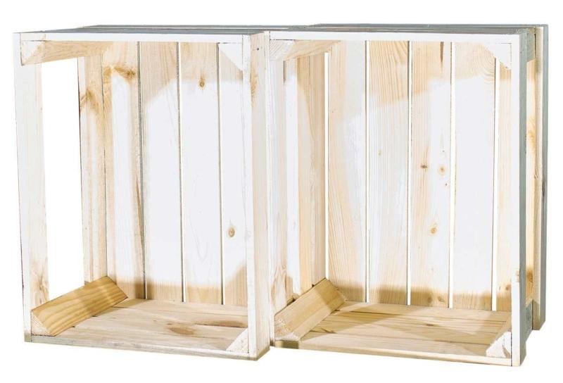 Holzkiste Display Edition