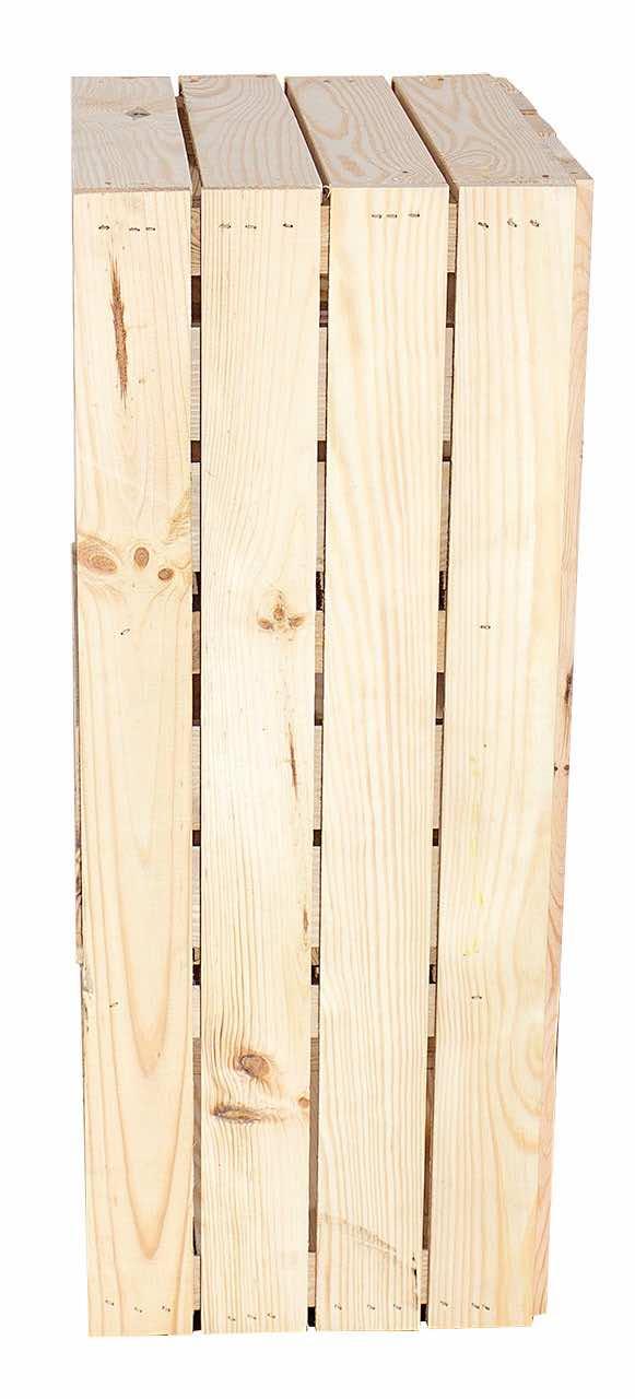 Regalkiste mit Schubladen Holzkisten Obstkisten