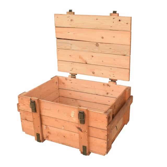 Holzkiste für Munition