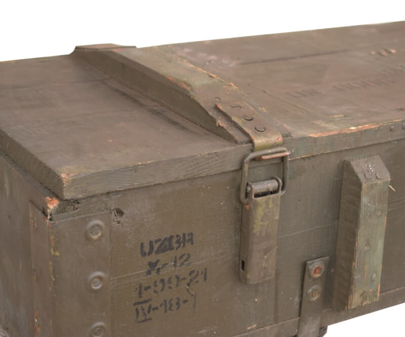 Munitionskiste aus Holz