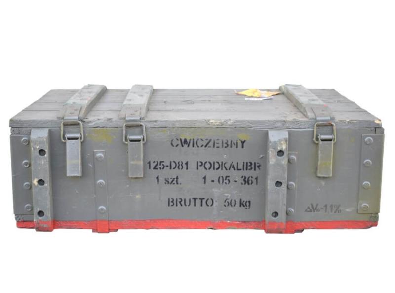Munitionskiste für Dekozwecke