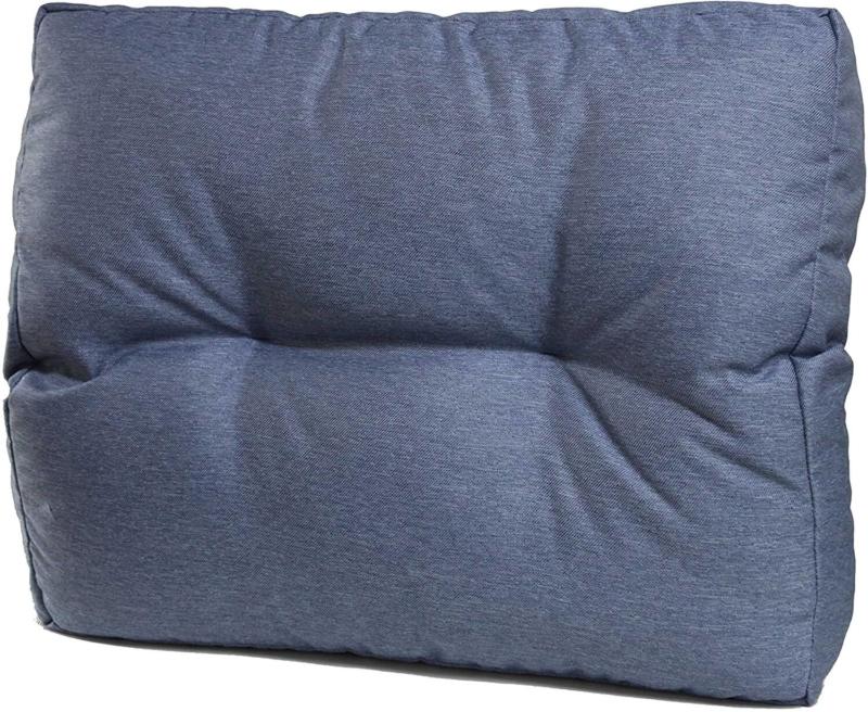 seitenkissen blau 60x50